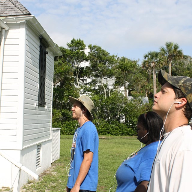 audio tour for Kingsley Plantation