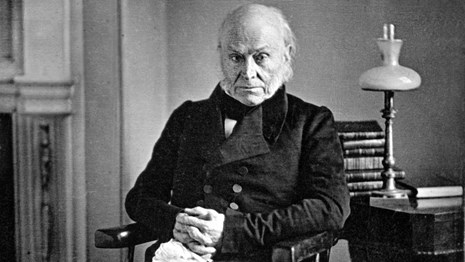 photograph of john quincy adams