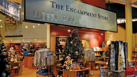Photo of the Encampment Store Interior