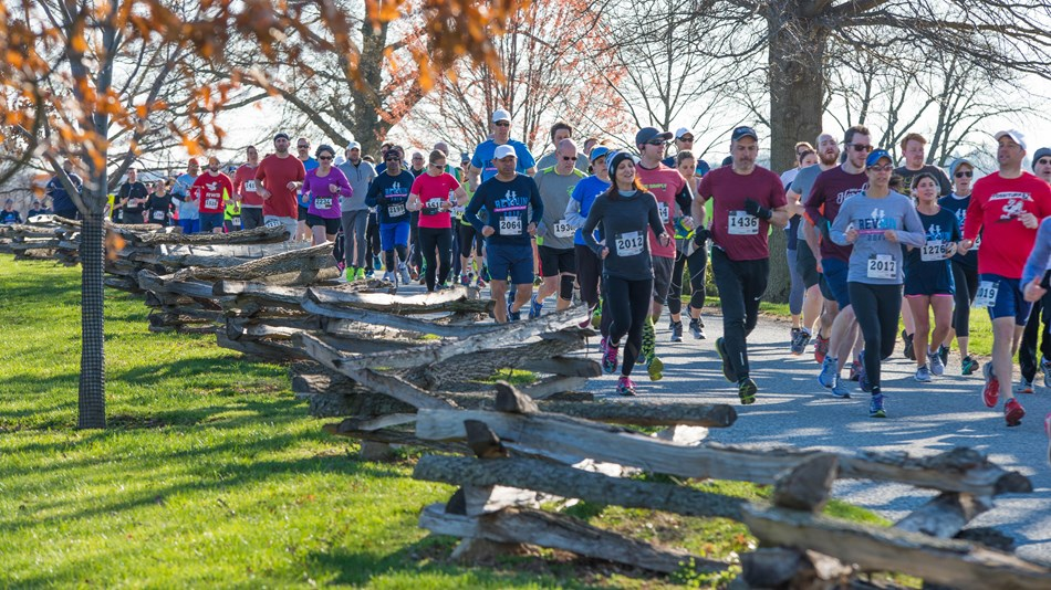 Runners at Valley Forge