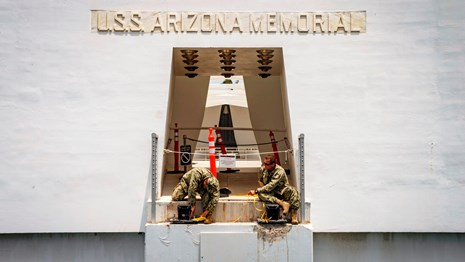 USS Arizona Memorial closure