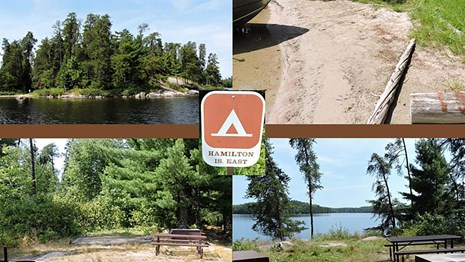 An inside look at a Voyageurs National Park campsite