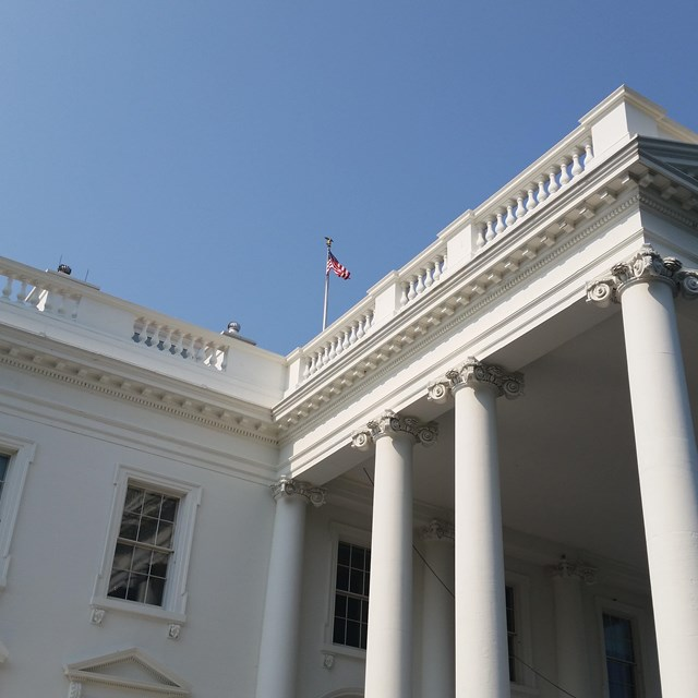 North Portico of the White House