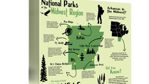 National Historic Sites and National Parks in Arkansas
