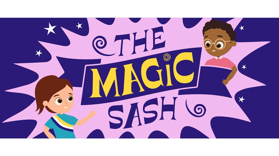 Banner logo for The Magic Sash Podcast