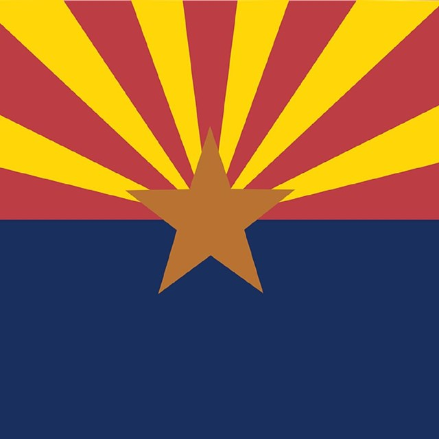 State flag of Arizona, CC0