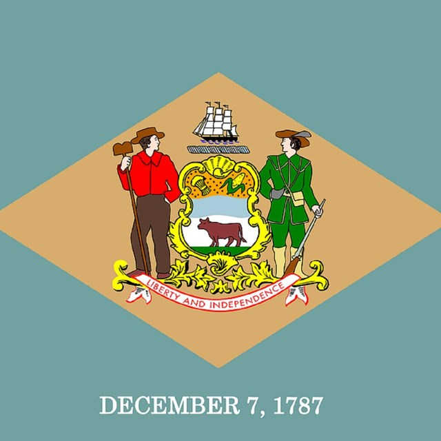 State flag of Delaware, CC0