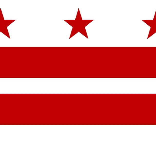 Flag of the District of Columbia, CC0