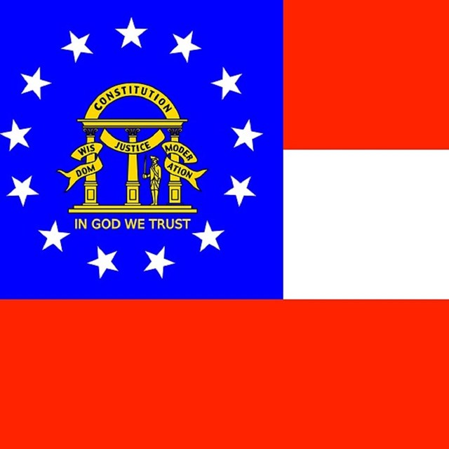 State flag of Georgia, CC0