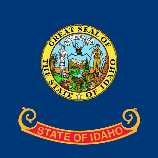 State flag of Idaho, CC0