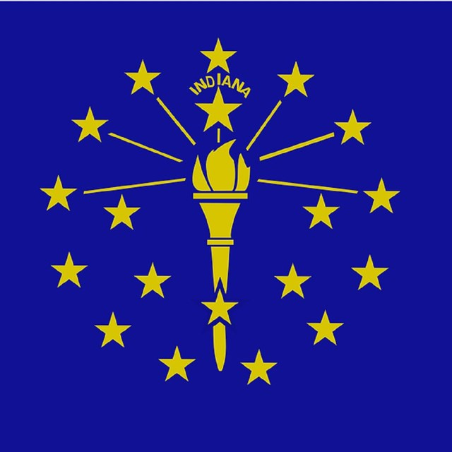 State flag of Indiana, CC0