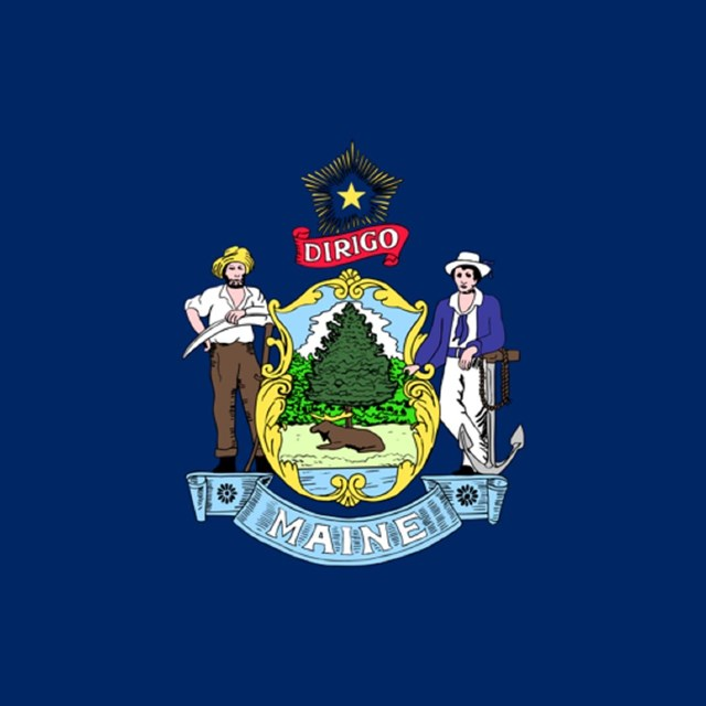 State flag of Maine, CC0