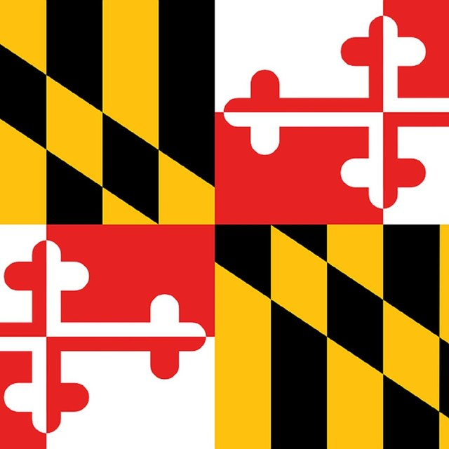 State flag of Maryland, CC0