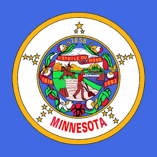 State flag of Minnesota, CC0