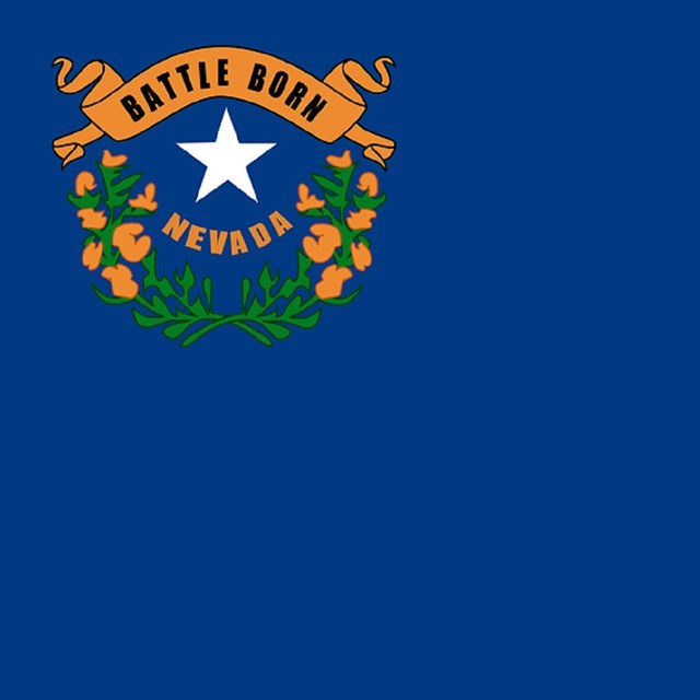 State flag of Nevada, CC0