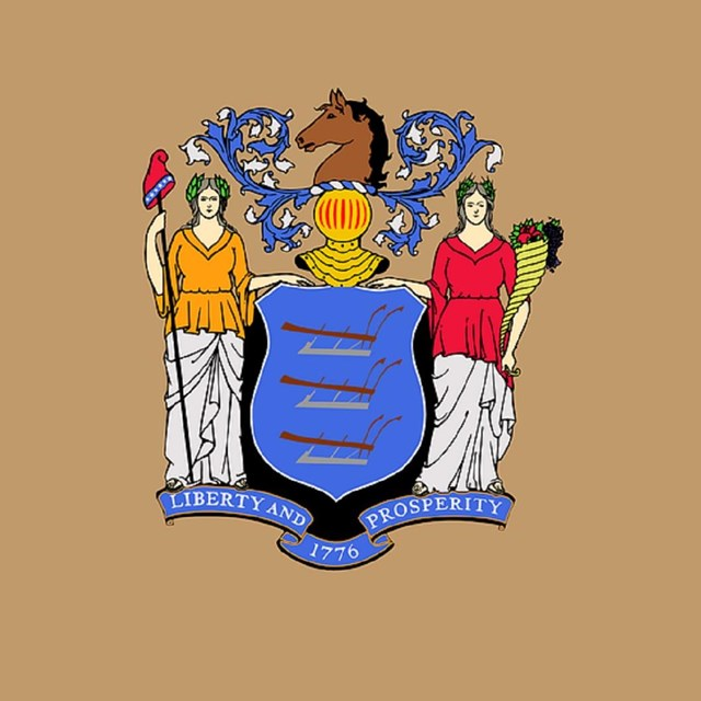 State flag of New Jersey, CC0