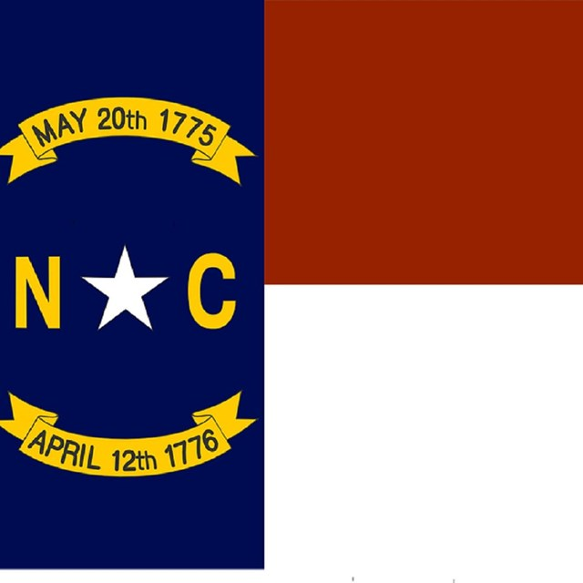 State flag of North Carolina, CC0