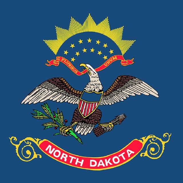 State flag of North Dakota, CC0