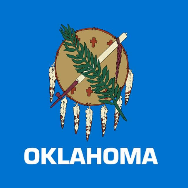 State flag of Oklahoma, CC0