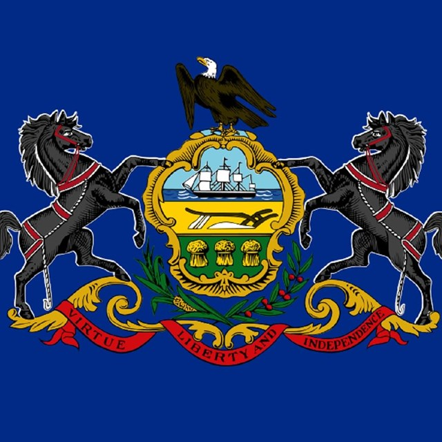 State flag of Pennsylvania, CC0