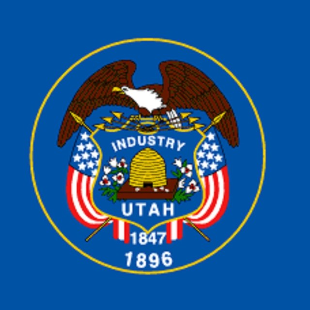 State flag of Utah, CC0