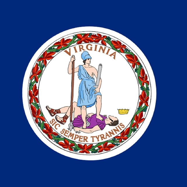 State flag of Virginia, CC0