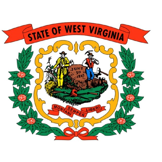 State flag of West Virginia, CC0
