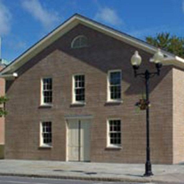 Exterior photo of the Wesleyan Chapel