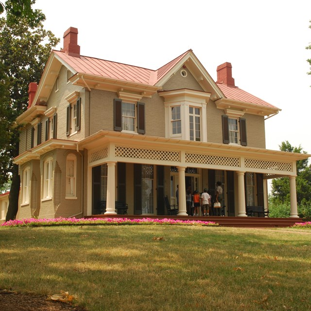 Exterior image of Cedar Hill, Frederick Douglass National Historical Site
