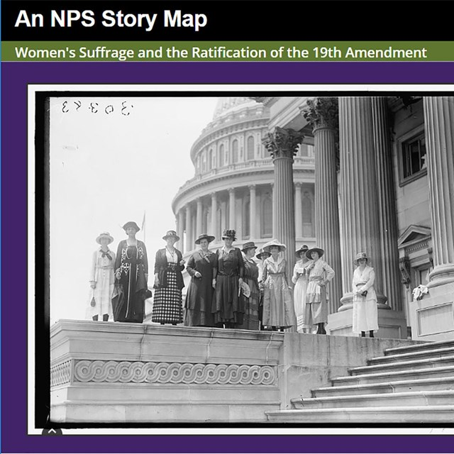 StoryMap: Places of Women's Suffrage