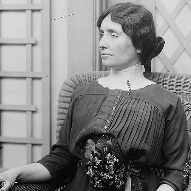 Helen Keller. Collections Library of Congress