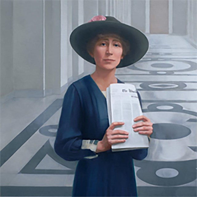Jeannette Rankin. Collection of the US House of Representatives.