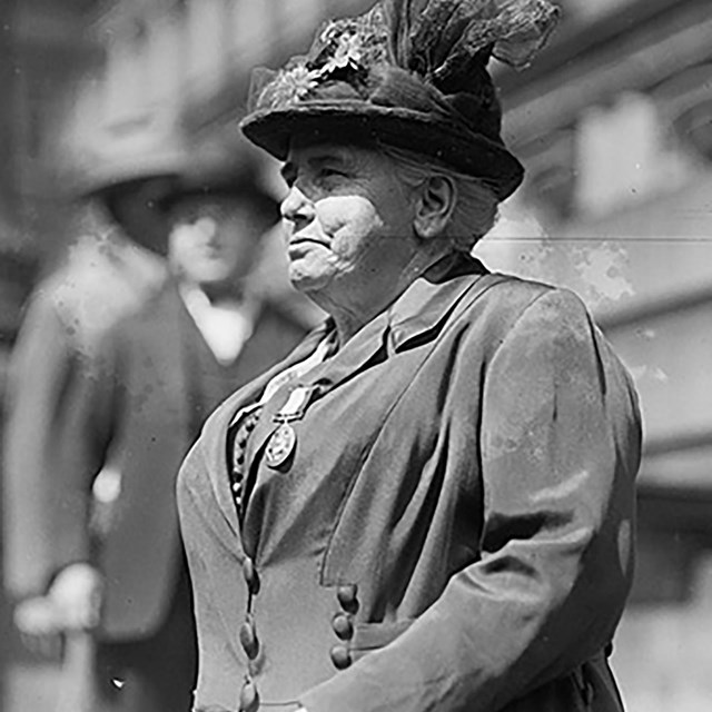 Anna Howard Shaw. Library of Congress