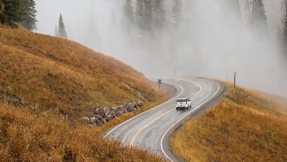 Park Roads - Yellowstone National Park (U S  National Park Service)