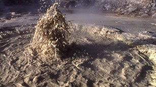 Archaea are found in place like the mudpots of Mud Volcano.