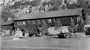 Early image of Yosemite Museum