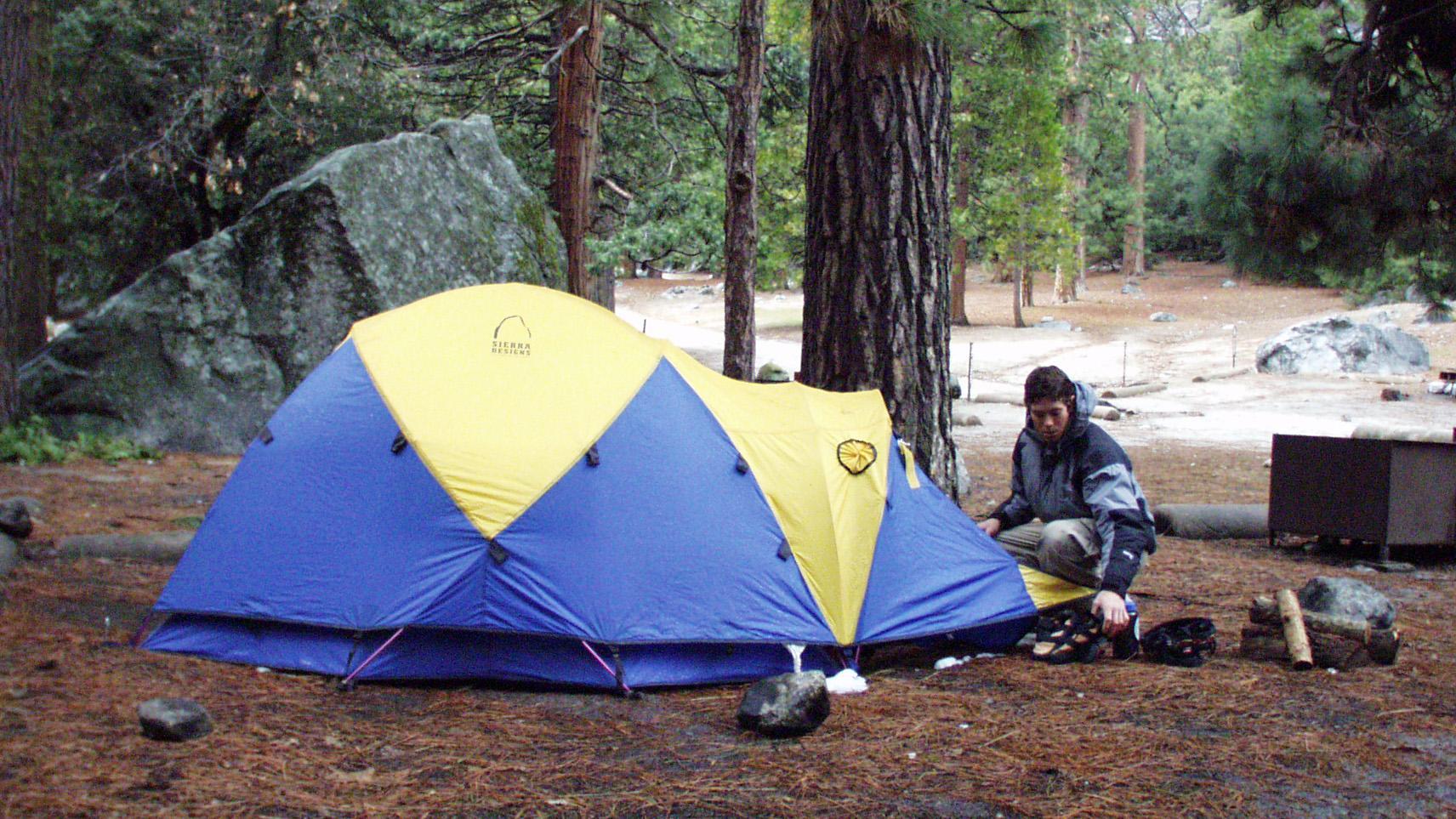 full hookup Camping nära Yosemite