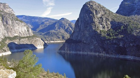 View of Hetch Hetchy Reservoir