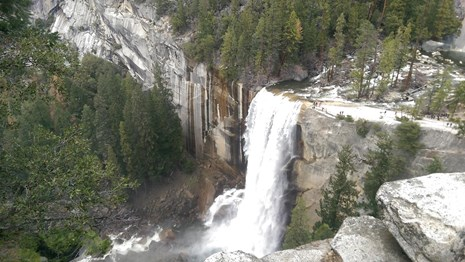 View of Vernal Fall