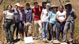 Urban Archeology Corps at Santa Monica Mountains NRA
