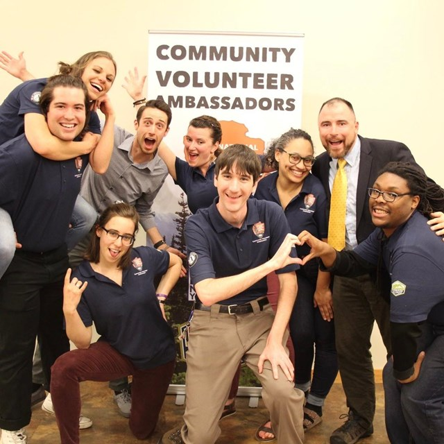 Group of Community Volunteer Ambassadors