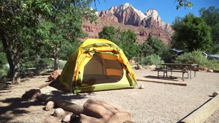 Campgrounds in Zion