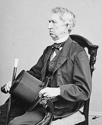 Photograph of William H Seward