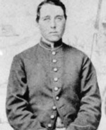 Photo of Albert Cashier (nee Jennie Hodgers)