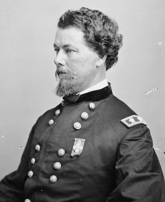 Photo of Major General Horatio Gouverneur Wright