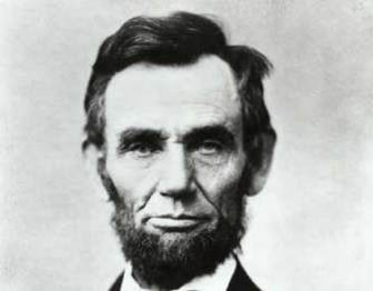 Photo of President Abraham Lincoln