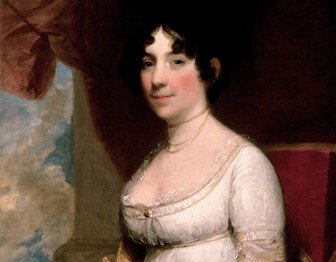 Portrait of First Lady Dolley Madison
