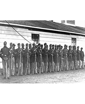 Co. E, 4th U.S. Colored Infantry, Fort Lincoln