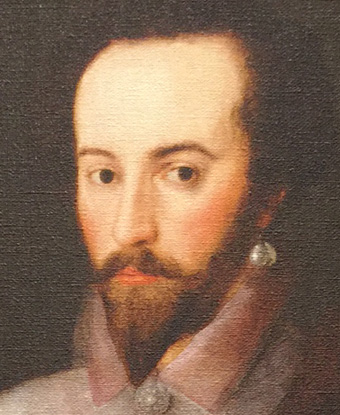 Portrait of Sir Walter Raleigh, 1588.