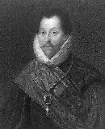 Contemporary portrait of Sir Francis Drake